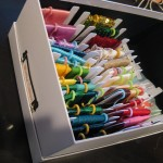 Ribbon organization after cropper Hopper Ribbon Cards