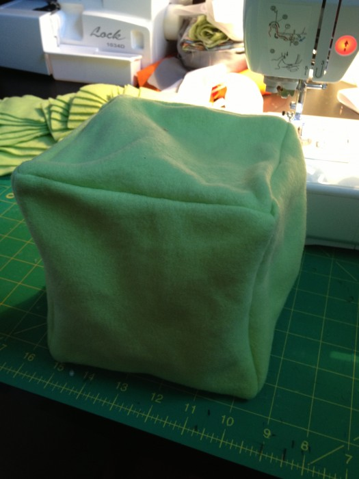 pretty cool eh? now you know how to make fun square pillows! or soft baby blocks for a baby shower gift....