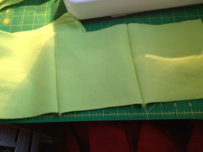 here there are 4 head squares sewn together